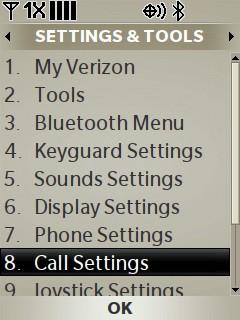 Selecciona Call Settings