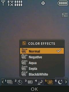 Efectos de color