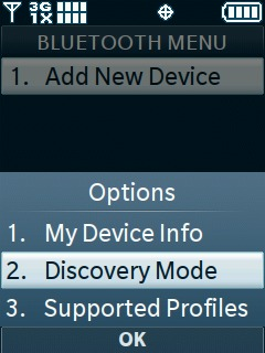 Select Discovery Mode