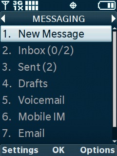 Select New Message