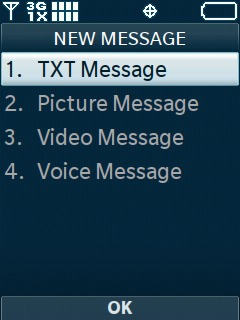 Select TXT Message