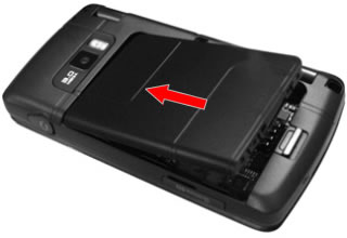 Insertar la batería