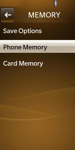 Phone Memory