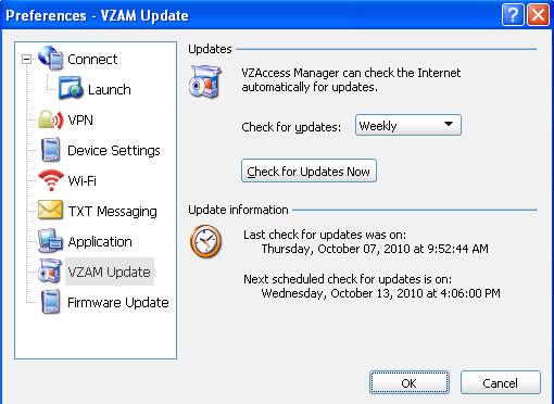 VZAM Updates