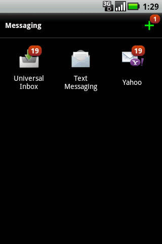 Selecciona Inbox