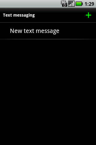 New text message