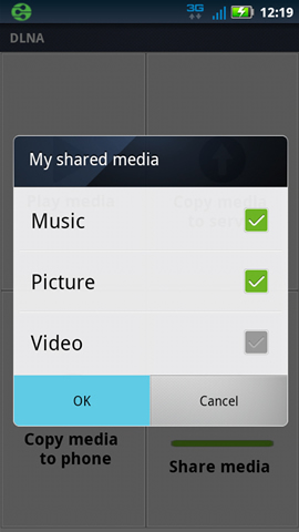 DLNA, compartir medios