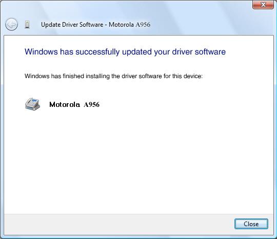 Actualización de software completa
