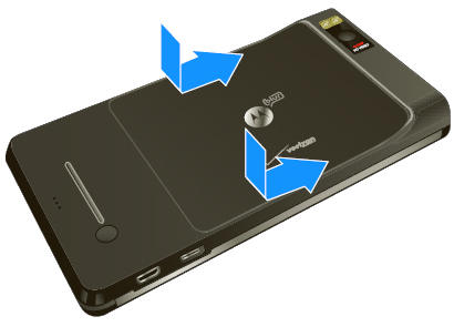Replace battery cover