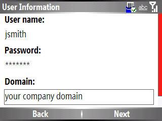 Información de usuario