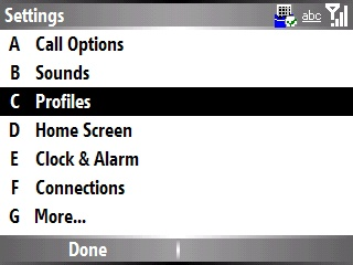 Enabling and disabling sound notification 3
