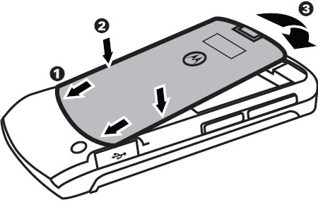 Replace the battery cover