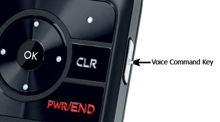 Tecla para el marcado con voz
