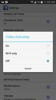 Autoplay option
