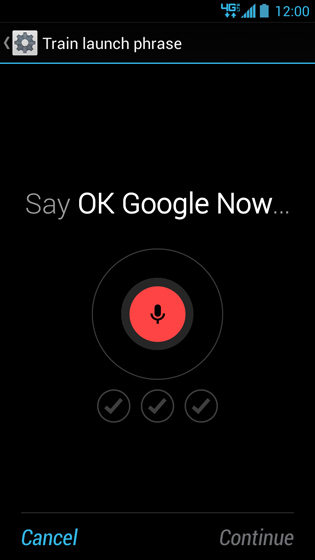 Train launch phrase, Say, OK Google Now