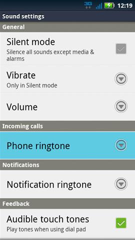Sound con Phone ringtone