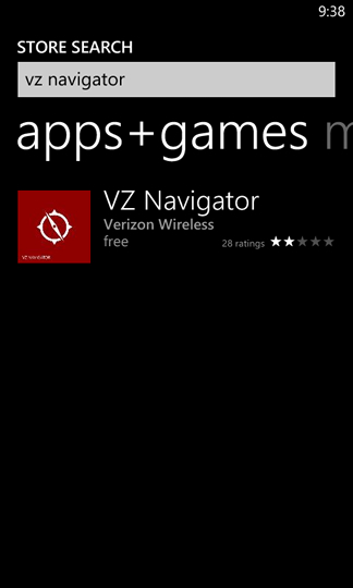 Vz navigator windows phone (o. S. 8. 0 and higher) download and.
