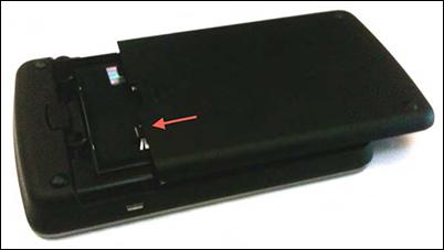Install battery door