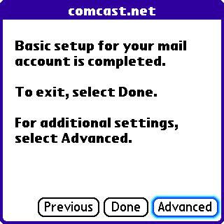 Imagen de Treo 650 - Deshabilitar SSL en VersaMail - Paso 8