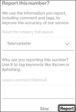 Tap Report
