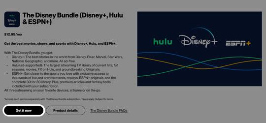 Add Disney Bundle Disney Hulu And Espn My Verizon Website