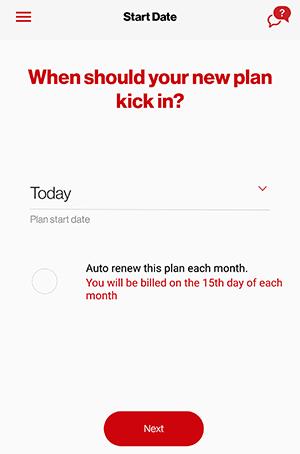 International - Ready Check - Select Date