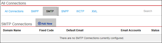 Add new SMTP