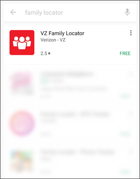 Tap VZ Family Locator