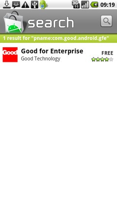 Touch Good for Enterprise