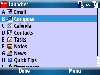 Good Launcher with Compose selected=