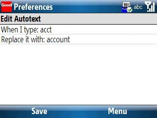 Editar Autotext