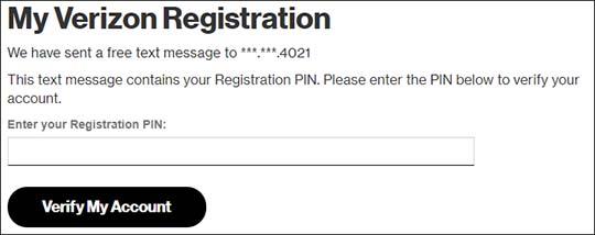 Registration PIN