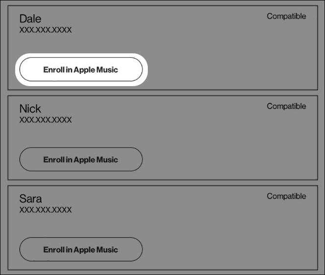 Inscribirse en Apple Music