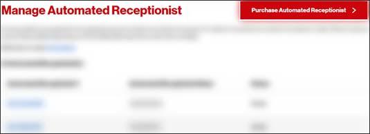 Click purchase Auto receptionist