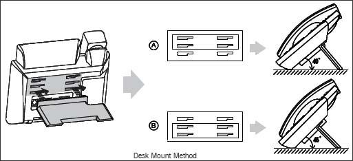 Desk mount