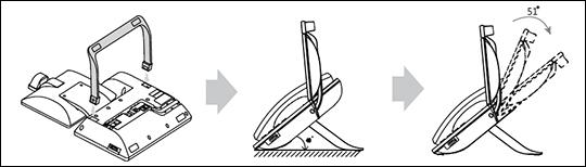 Install desk mount