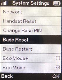 base Reset