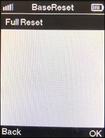 Full reset