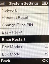 Select base reset