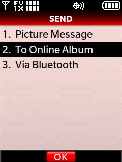 Select To Online Album