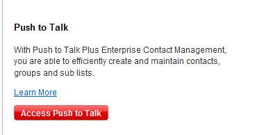Access Push to Talk