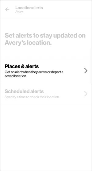 Location alerts with Places & alerts