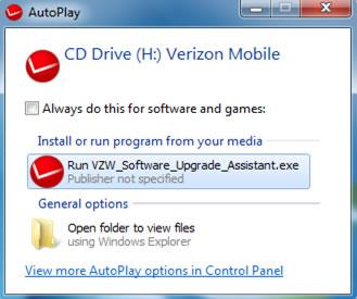 """Run installer"" desde ""Autoplay"""