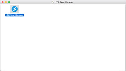 Click HTC Sync Manager