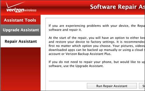 Software Repair Assistant