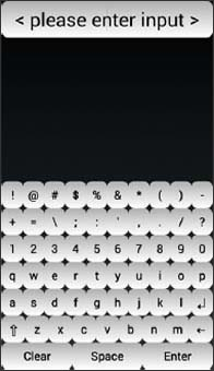 Keyboard Screen
