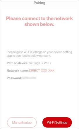 Oprime Wi-Fi Settings