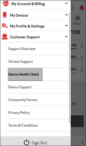 Click Device Health Check