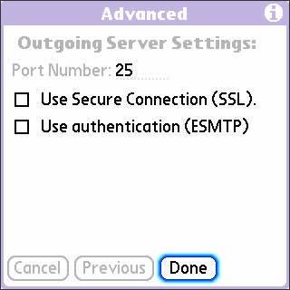 Verificar las configuraciones POP / IMAP