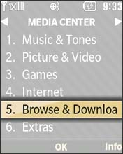 Select Browse and Download